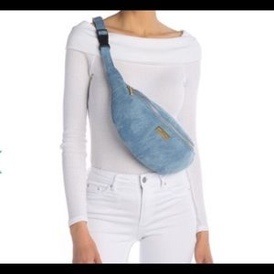 🆕 Peace Love World Denim Bum Bag